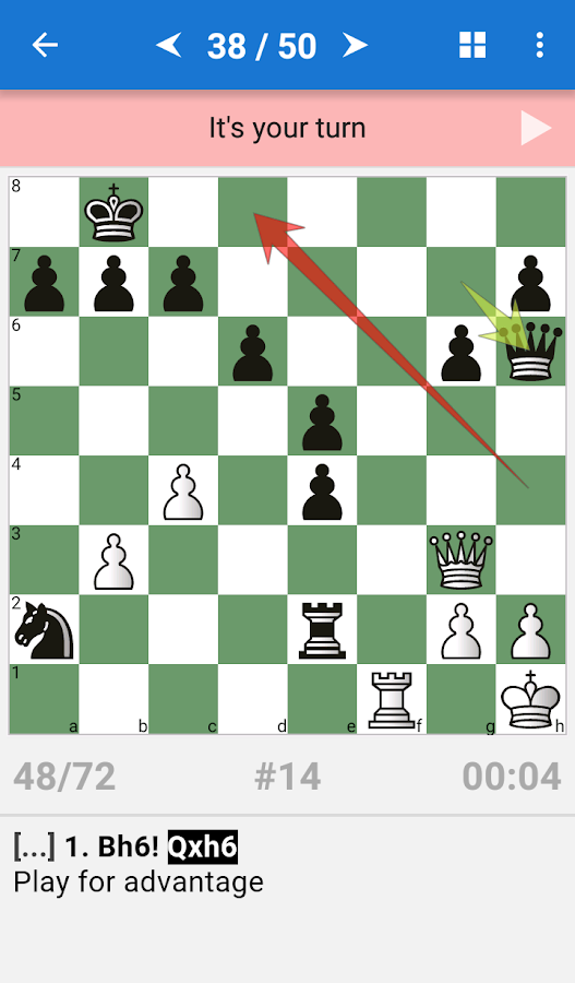 CT-ART. Chess Mate Theory Screenshot 1