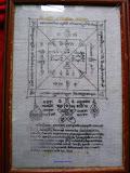 ผ้ายันต์พัดโบก หลวงปู่ทิม รุ่นแรก วัดละหารไร่ ปี.17