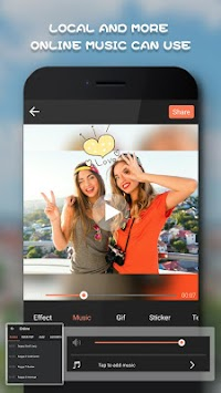 Beauty Video Editor,Cut,Music & Square Pic Collage APK screenshot thumbnail 4