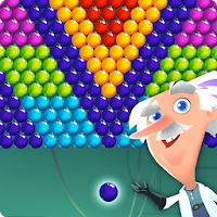 Crazy Scientist Bubble Shooter For PC (Windows And Mac)