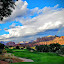 The Signature by Michael Pruitt - Landscapes Cloud Formations ( golf course, sedona, number ten )