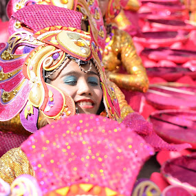 Drowned in Pink by Geb Bunado - Public Holidays Other ( religion, sinulog, cebu city, cebu, santo nino, festival, philippines, pwccandidcelebrations )