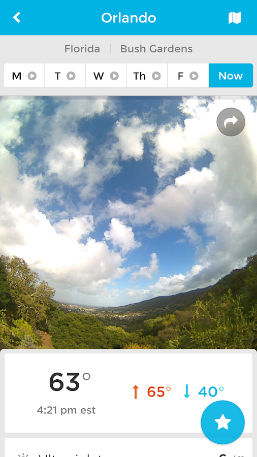 BloomSky Weather Screenshot 0