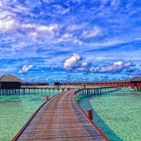 Maldives by Robert dela Torre - Buildings & Architecture Bridges & Suspended Structures
