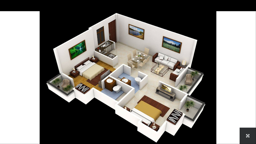 3d House Plans Android App Screenshot