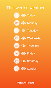 Stormy - Simple Weather App - screenshot