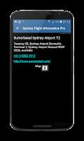 Screenshot of Melbourne Airport Flights
