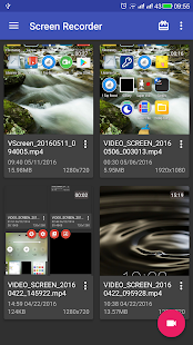 Bildschirm Videorecorder Screenshot