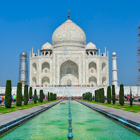 Tajmahal by Rahul Chakraborty - Buildings & Architecture Public & Historical