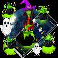 3D halloween ghost theme