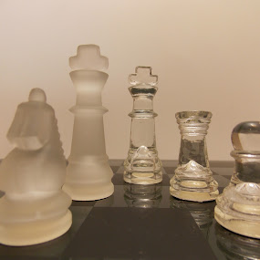 Checkmate by Jeannie Love - Novices Only Objects & Still Life ( pieces, games, still life, board, objects )