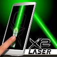 Laser Pointer X2 Simulator