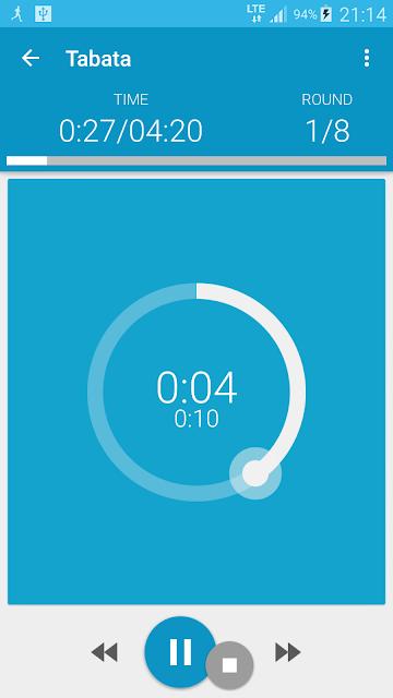 HIIT - interval training timer screenshots