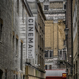 Tyneside Alley by Adam Lang - City,  Street & Park  Street Scenes ( odeon, cinema, street, newcastle, tyneside cinema, alley )