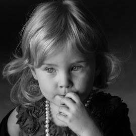 by Art Tilts - Babies & Children Children Candids ( innocence, black and white, wedding, fingers, eyes )