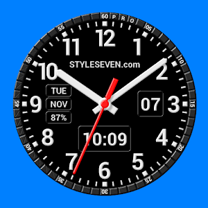 Analog Clock Constructor-7 PRO for PC-Windows 7,8,10 and Mac