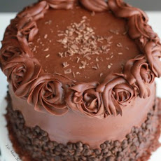 Ultimate Triple Chocolate Layer Cake