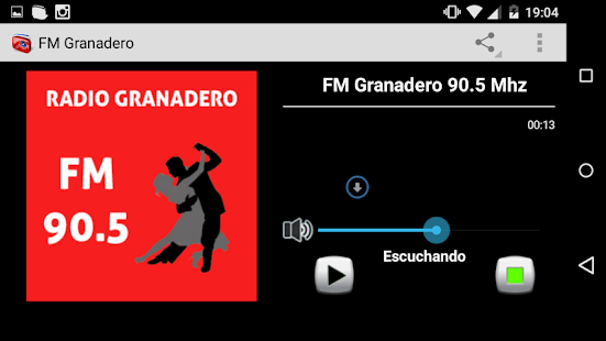 Radio Granadero - screenshot
