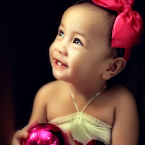 Christmas is her by Thirdee Balleras - Babies & Children Children Candids