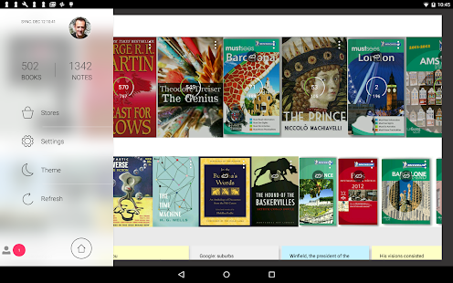 Bookari Ebook Reader Premium Screenshot