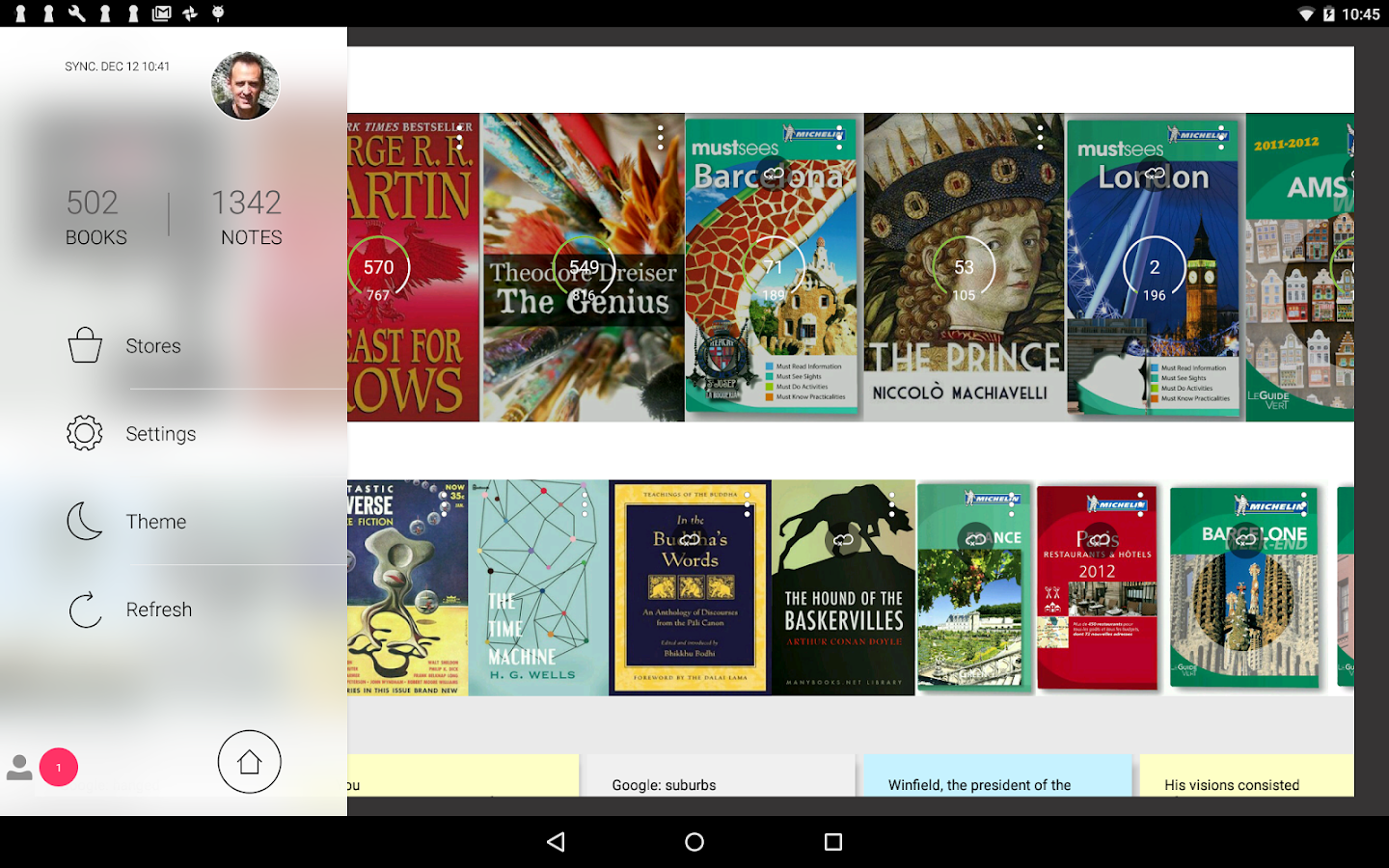 Bookari Ebook Reader Premium Screenshot 8