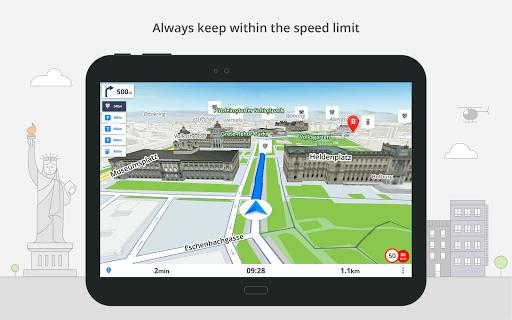 GPS Navigation & Offline Maps Sygic screenshot 14