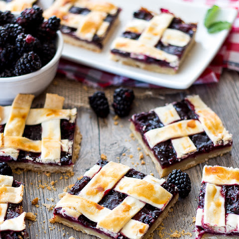 Blackberry Pie Bars