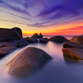 Tranquil twilight by Dany Fachry - Landscapes Beaches