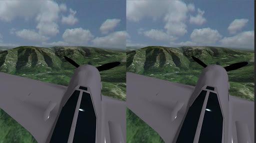 VR flight - screenshot
