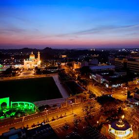 Bandar Seri Begawan by Zulkifli HAL - City,  Street & Park  Skylines