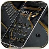 App Gold guitar Theme gold music APK for Kindle