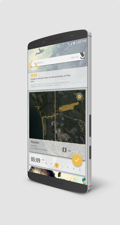 CoLd advenTure for KLWP Screenshot 7