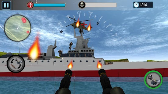 Download Android Game Navy Gunner Shoot War 3D for Samsung