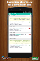 Screenshot of ContinuousCare Health App