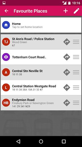 UK Bus Checker - Live Times - screenshot