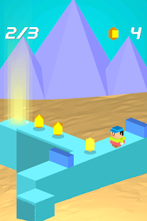 Zig Zag Path Tap - screenshot