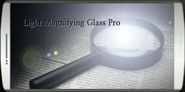 Light Magnifying Glass Pro - screenshot