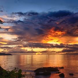 Burst by Karen Lee - Landscapes Sunsets & Sunrises