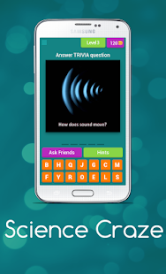 Science Craze Trivia - screenshot