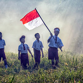 celebrate the independence by Syarif Rohimi - Babies & Children Child Portraits