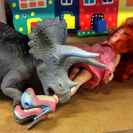 Attack of the Dinosaur by Keld Helbig Hansen - Artistic Objects Toys