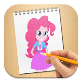 App How To Draw Equestria Pony Girls APK for Windows Phone
