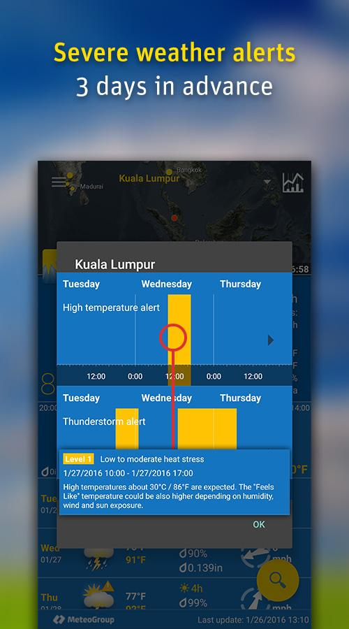 WeatherPro Screenshot 3