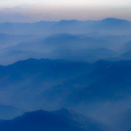 Mystical Mist by Rajiv Bhardwaj - Landscapes Mountains & Hills