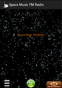 Space Music FM Radio - screenshot