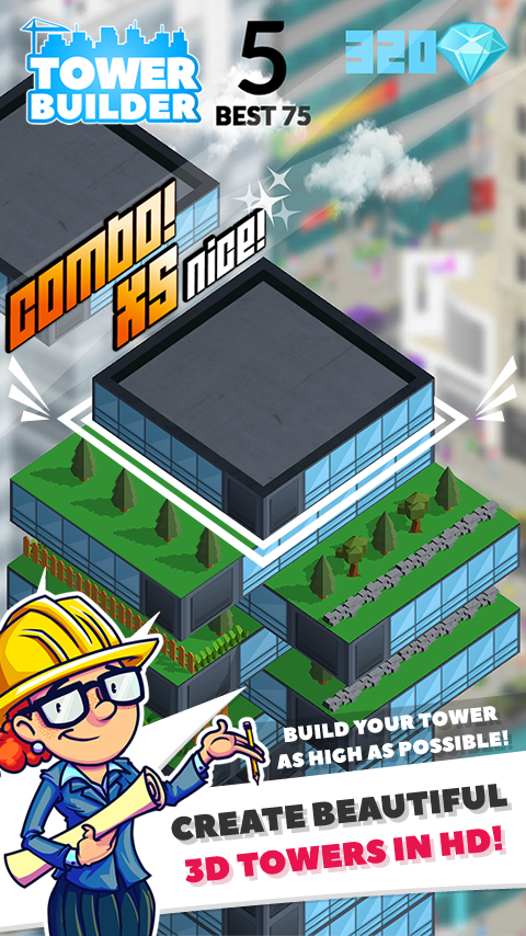 TOWER BUILDER: BUILD IT Screenshot 1