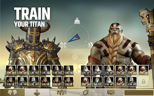 Dawn of Titans - Epic War Strategy Game Screenshot