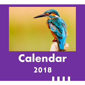 2018 Birds Calendar for PC-Windows 7,8,10 and Mac