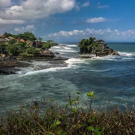 Tanha lot,Bali by Amrita Bhattacharyya - Landscapes Waterscapes