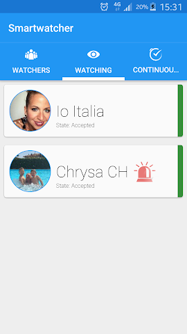 android SmartWatcher Screenshot 3